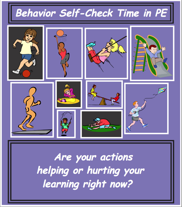 Behavior Check Poster Set