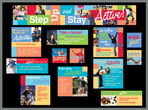 Physical Activity Bulletin Board Kit