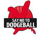 no more dodgeball t-shirt
