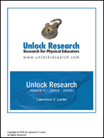 Unlocking Physical Education Research