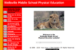 Wellsville Middle School Physical Education Site